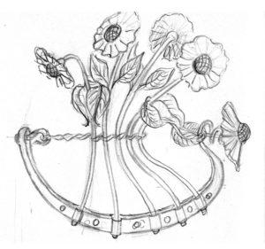 ontwerp bloembootje